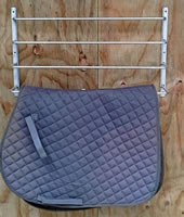 Saddle-blanket-rack